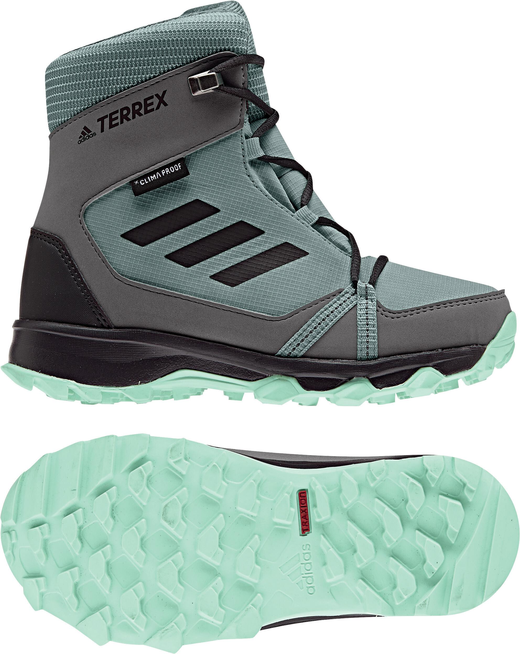 new arrival 8e224 5dd65 adidas TERREX SnowPitch Scarpe invernali Ragazza, clear mint/carbon/hi-res  aqua